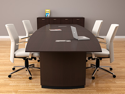 Choosing the right size conference table | Space per person