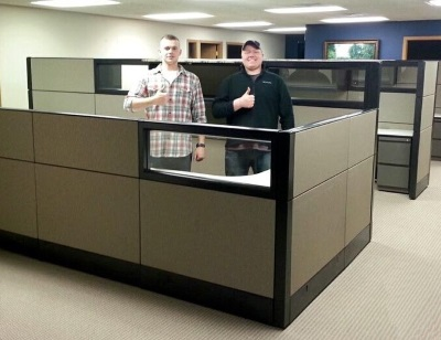 office furniture delivery and installation milwaukee | cubicle