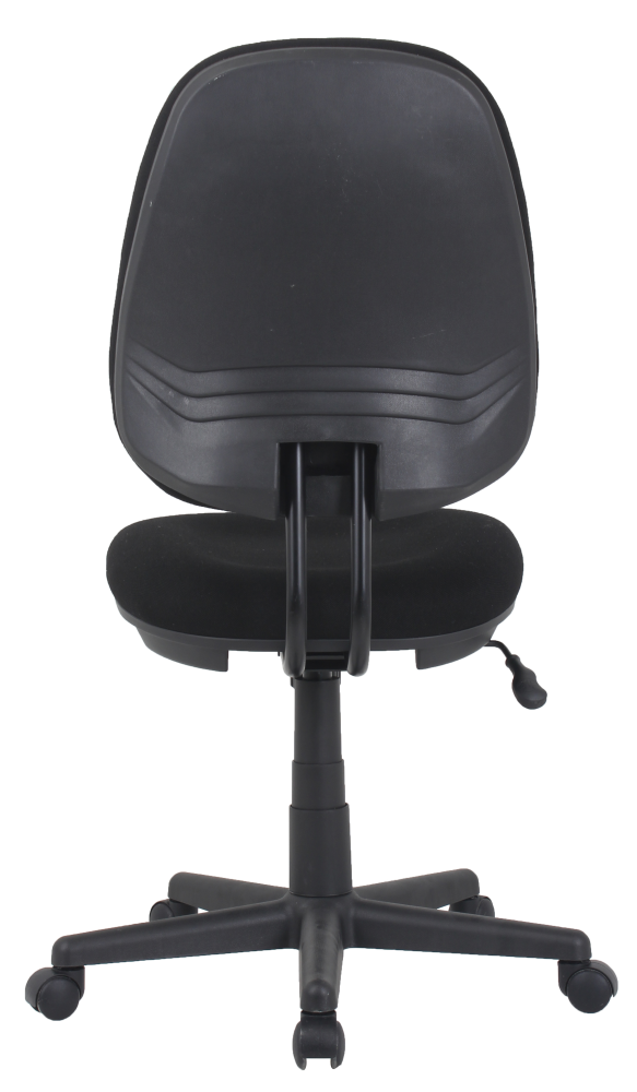 Black fabric task chair for small office cheap
