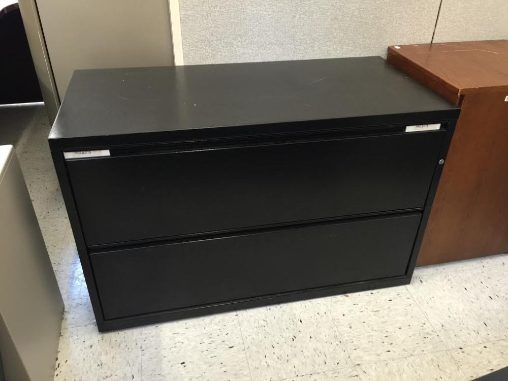 2 Drawer Metal Lateral File Cabinet For Milwaukee