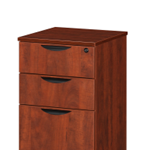 3 drawer laminate pedestal filing cabinet