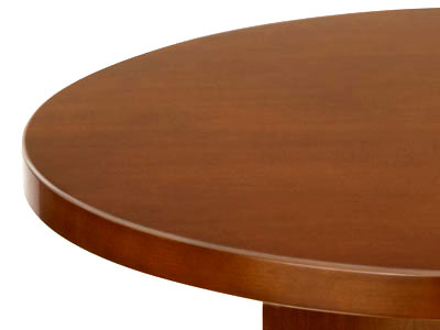 wood veneer round office table for sale Milwaukee