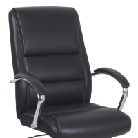 high back black leather office chair for sale online
