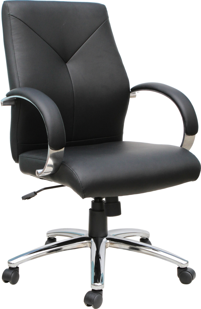black office chair with back support for sale
