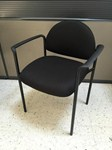 black vinyl client office chair for sale Milwaukee