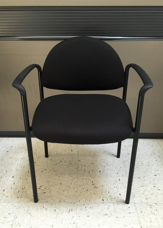 black vinyl client chair new ofw office furniture warehouse waukesha kenosha wisconsin. Black Bedroom Furniture Sets. Home Design Ideas