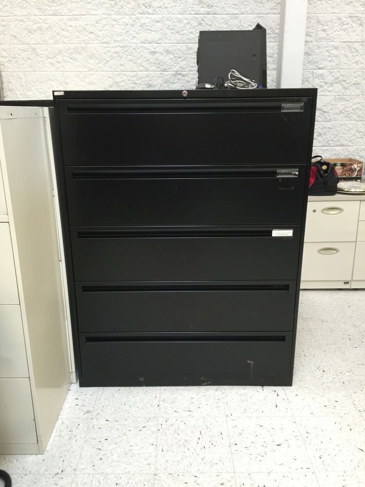 5 drawer metal lateral file cabinet for sale Milwaukee
