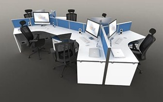 Open Concept Workstations for Modern Office Settings