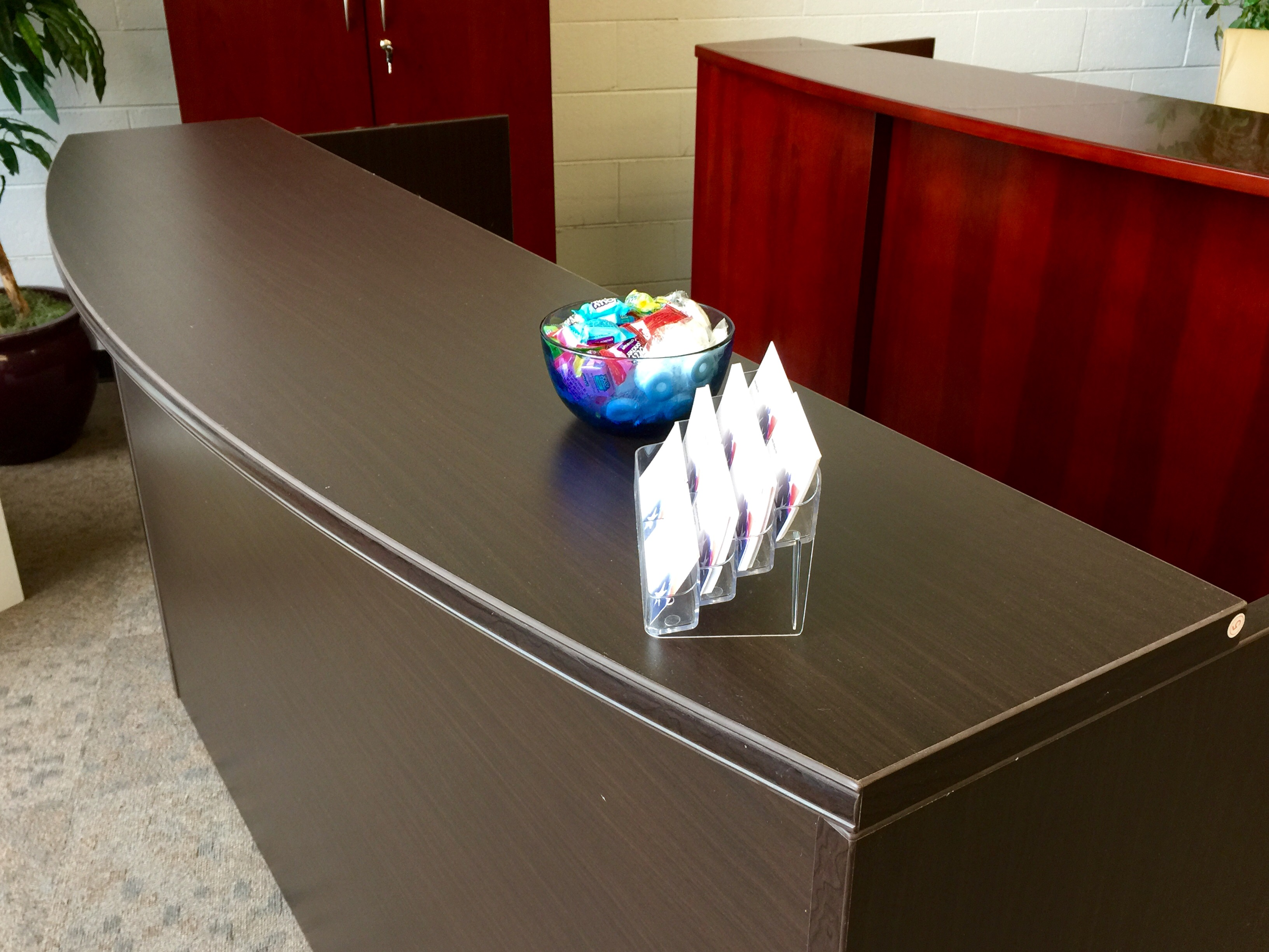 kenosha office cubicles. Crescendo Office Reception Desk Kenosha Cubicles K