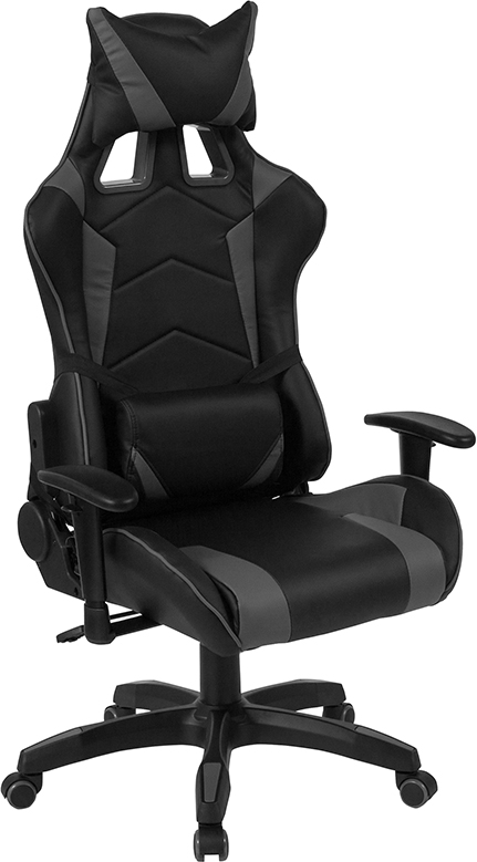 Awe Inspiring Grey Black Gaming Chair For Sale Ofw Office Furniture Andrewgaddart Wooden Chair Designs For Living Room Andrewgaddartcom