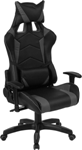 Grey & Black Gaming Chair