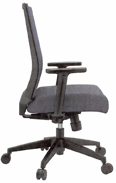 fully adjustable ergonomic computer chair for back pain