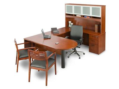 U Shaped Executive Desk Vintage Kids Desk