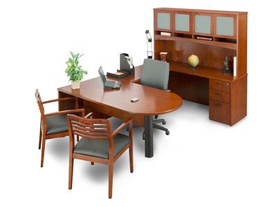 U Shaped Executive Desk Old Oak Desk For Sale