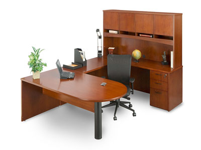office desk with modesty for sale Milwaukee
