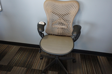 Used Herman Miller Mirra 2 task chair - Tan