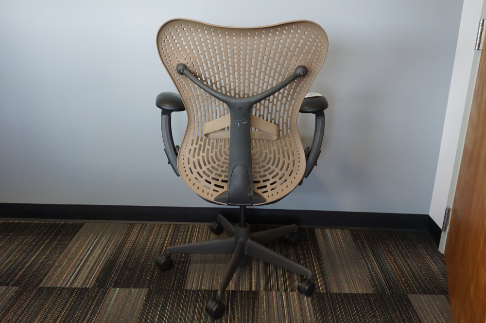 Used Herman Miller Mirra 2  task chair rear view