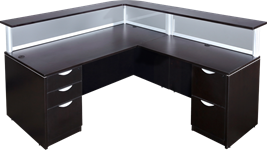 Custom reception desk for sale
