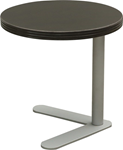 round black end table for office
