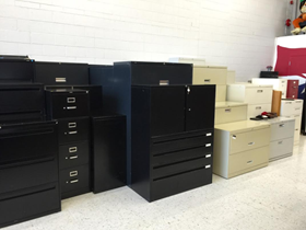 Used filing cabinets for sale near Milwaukee