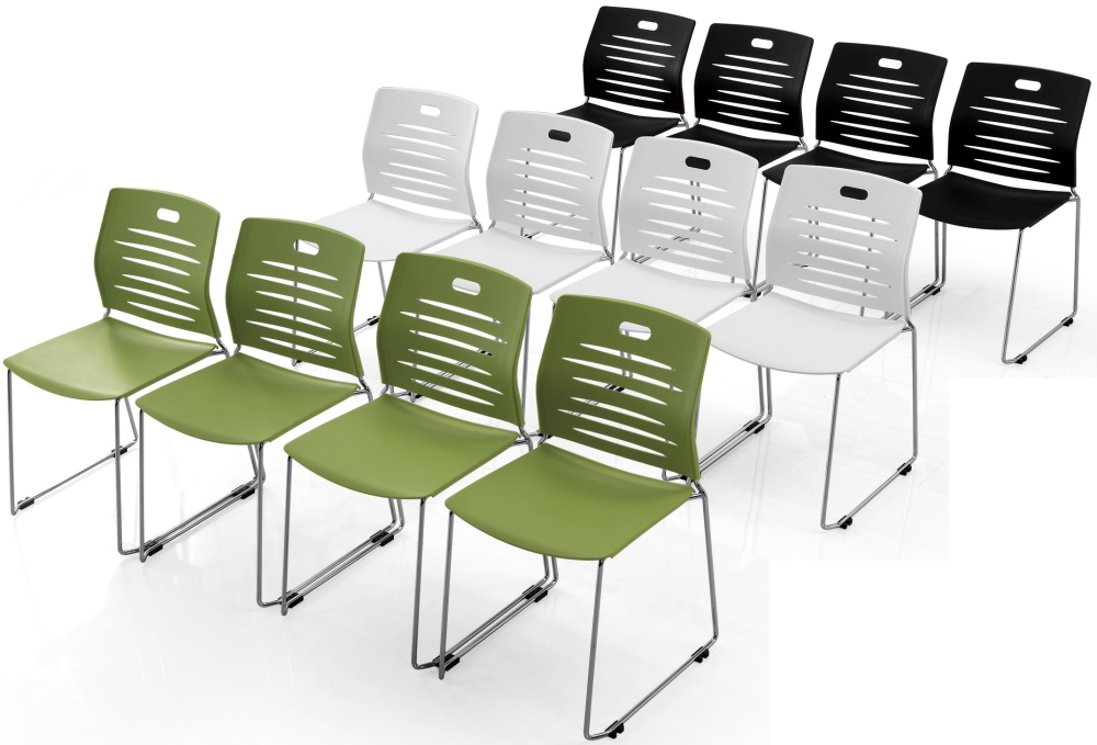plastic stacking chairs with ganging clips ofw office furniture