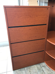 HON 4 drawer lateral filing cabinet for sale