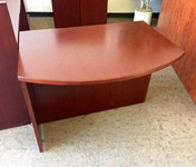 ADA Compliant office desk Return (Luna Cherry)