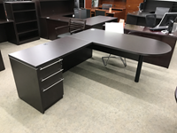 L shaped office desk for sale Milwaukee