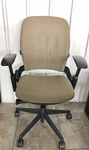 Steelcase leap V2 in beige for sale refurbished
