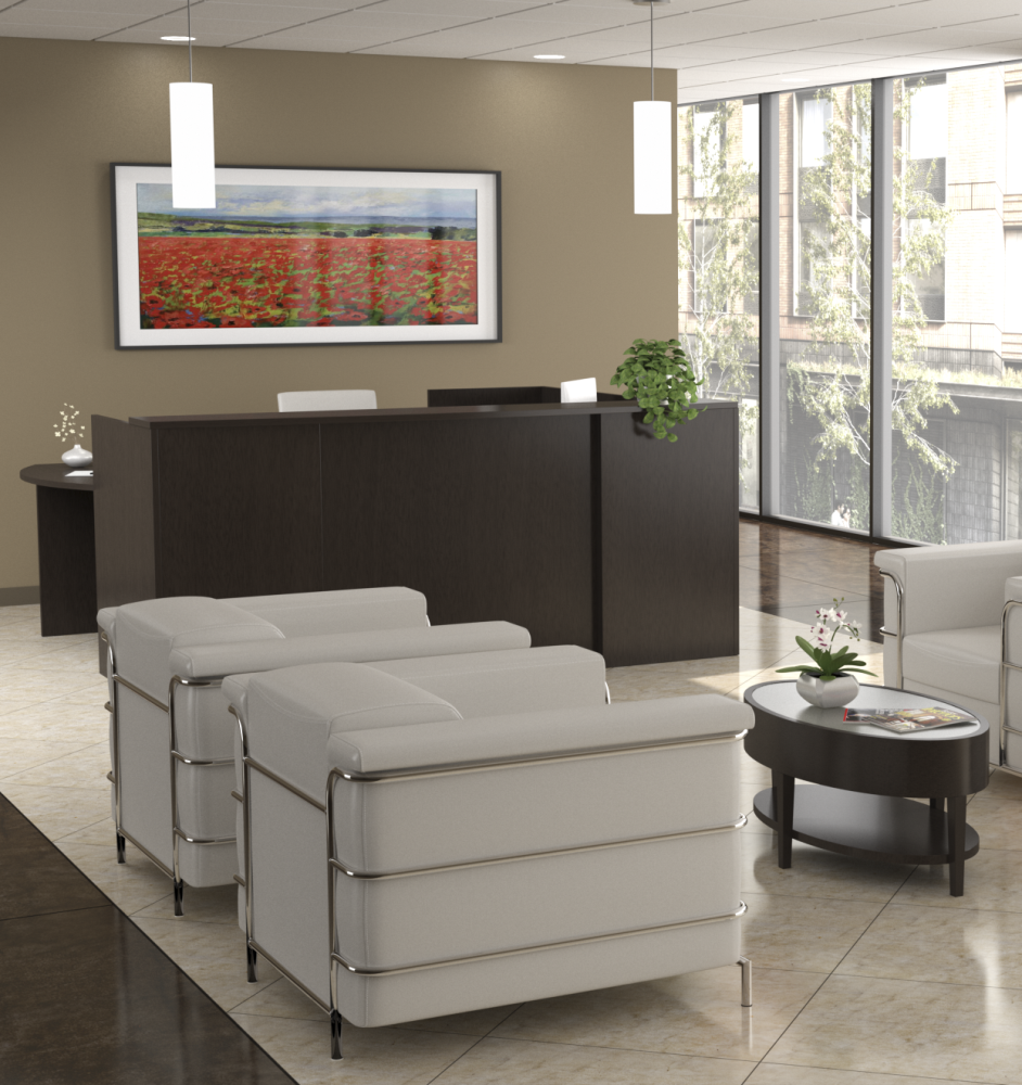 Discount Furniture Milwaukee: Discount New & Gently Used Reception Desks For Sale