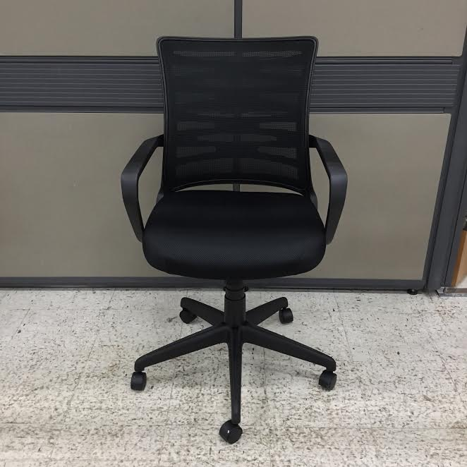 New Used Pilates Chair For Sale: Cross Back Mesh Back/Seat Task Chair
