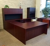 U shaped office desk for sale Milwaukee