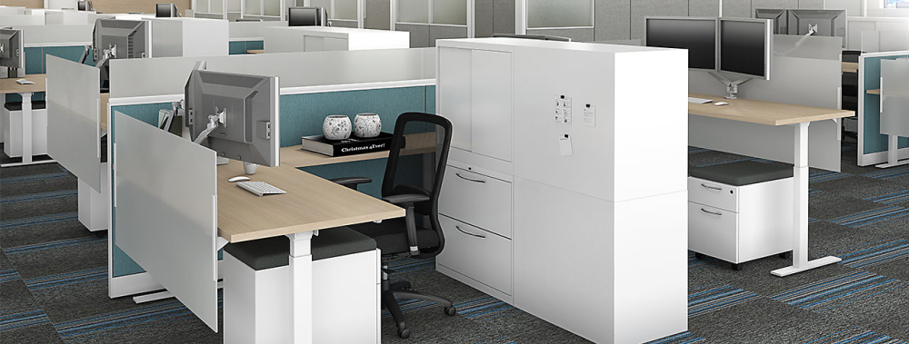 Maxon Prefix workstations designed and installed in Waukesha office