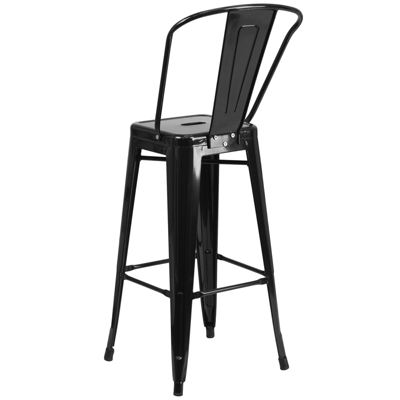 black metal barstool for sale