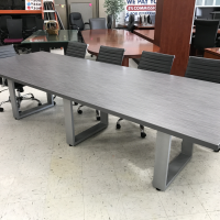 12-foot metal conference table for sale Milwaukee