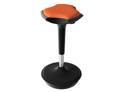 ergonomic height adjustable stool