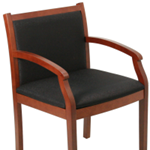 upholstered frame wood office chair for sale Milwaukee