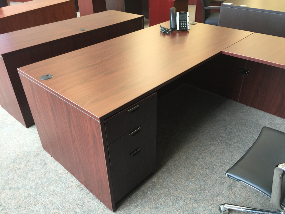 Straight Front U Shape Desk Set W Hutch Ofw Office