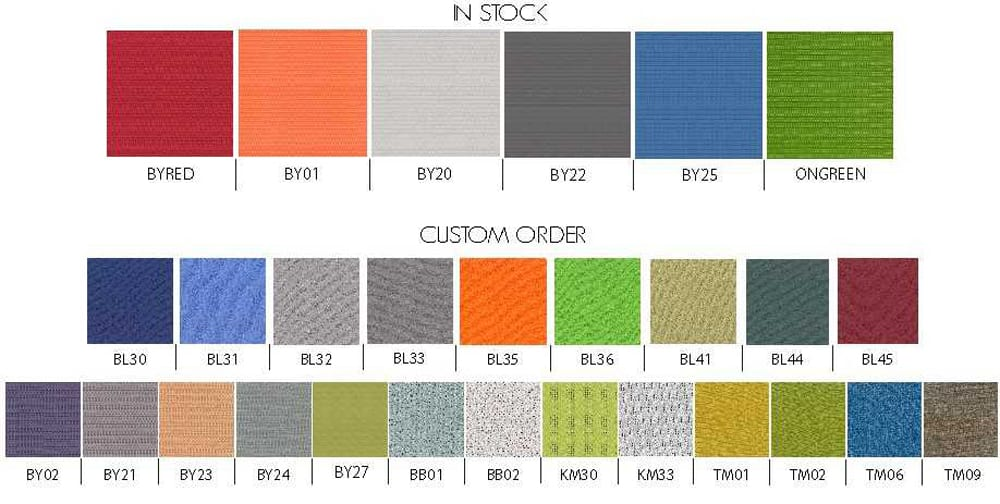 Sunline Cubicle Color Options