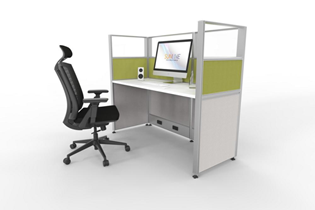 Small Workstations for Call Centers or Telemarketing