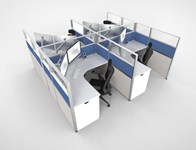 Affordable New Office Cubicles