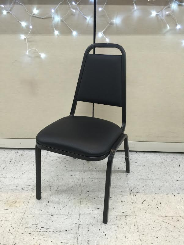 Black Banquet Chairs Used