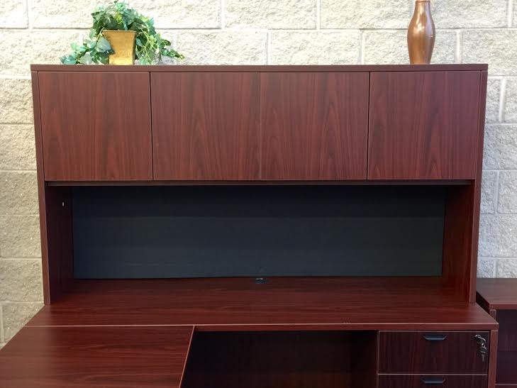 office desk with hutch Waukesha