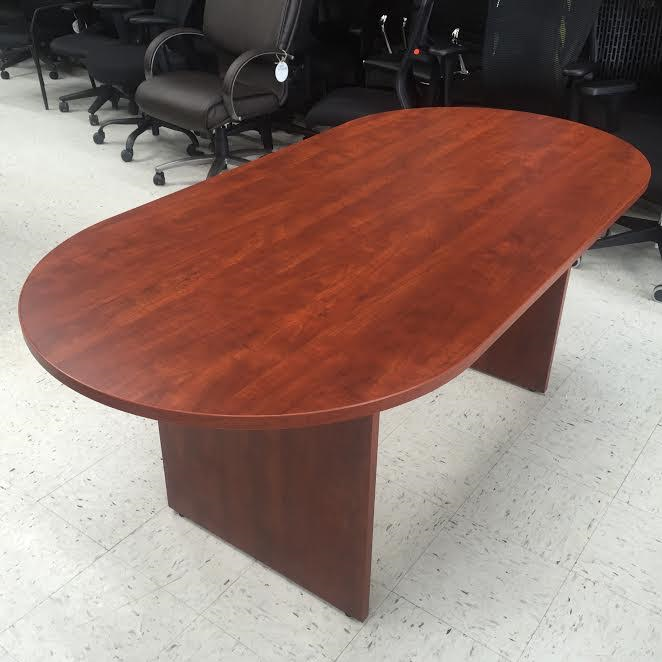 8 foot oval conference room table for sale Milwaukee
