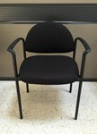 black fabric client office chair for sale Milwaukee