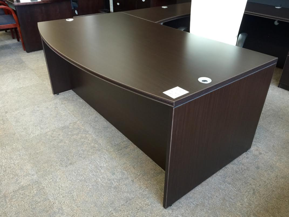 bow front u-shape w/hutch | ofw office furniture warehouse