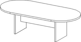 laminate racetrack conference table for sale Milwaukee