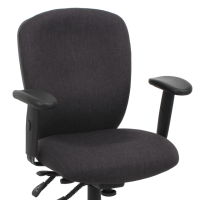 Fabric office chair with arms and wheels, free shipping