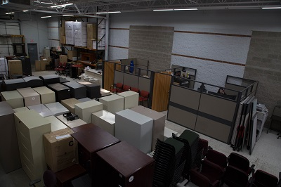 used file cabinets and cubicles