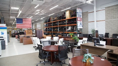 Used Office And Reception Desks For Sale Near Milwaukee